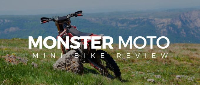 Monster Moto mini bike review