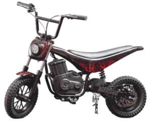 Burromax Red Lightening TT350R- Best Electric DirtBike for Adults